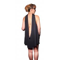 Robe Frisson Coupable Noir